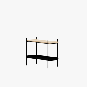 Mleko Shelving System Sideboard 02 Black Oak