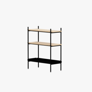 Mleko Shelving System Sideboard 05 Black Oak
