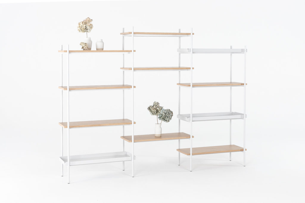 Display Mleko Shelving System